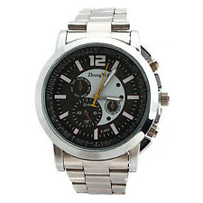 Men's Quartz PU Analog Wrist Watch