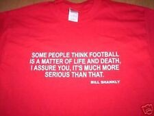 BILL SHANKLY QUOTE  T-SHIRT NEW all sizes LIVERPOOL