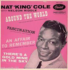 NAT KING COLE Around The World  EP 1960's Mono