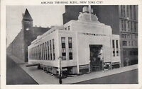 Postcard Airlines Terminal Bldg New York City NY