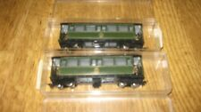 PAIR OF EGGER BAHN HOe GAUGE FIERY ELIAS PASSENGER COACHES P47