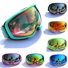 US Ski Snowboard Dustproof Anti UV Goggles Double-layer Lens Frame Eye Glasses