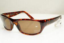 Authentic MAUI JIM Mens Vintage Sunglasses Brown MJ 103 Stingray 10 29297