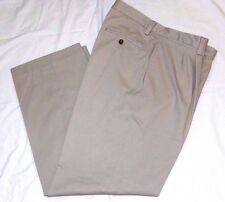 Eddie Bauer Classic Fit Pants, Pleated Dress Slacks--35 x 32  Great quality!