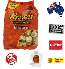 Reeses Miniature 1.5Kg Chocolate Peanut Butter Cups Sweets Party Bag Home Pantry