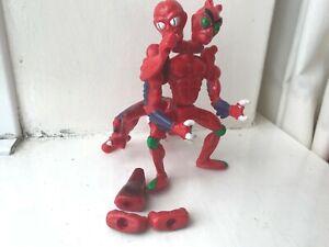 80S Original Mattel He-Man Motu Masters Of The Universe Modulok Figura de Acción