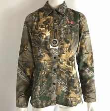 Under Armour Womens Performance Field Shirt Realtree Xtra Camo Hunting Sz S NWT