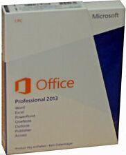 MS Office Professional 2013   Vollversion Dauerlizenz   Pro   Key   ML   DEUTSCH
