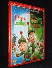 Disney's • Prep & Landing/Naughty & Nice (DVD, 2012) New!-Open•No Scratches!•USA