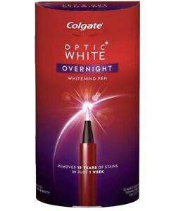 Colgate Optic White Overnight Teeth Whitening Pen 35 Treatments Exp 08-2021