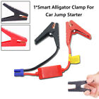 34cm Car Booster Cable Battery Alligator Clamp Emergency Lead Jump Starter Tool