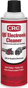 CRC Electrical Contact Flashpoing Quick Dry Electronic Cleaner 11 Oz Spray QD