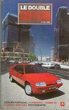 LE DOUBLE CHEVRON 99 GAMME CITROEN 1990 ALBERTO MARTINEZ CITROEN XM CITROEN SM