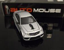 AutoMouse Mercede s Ben z C63 Car,2.4GHz Wireless Laser Optical Computer  Mouse