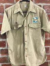 SCHLITZ MILWAUKEE BEER VINTAGE 1960's Harco Employee Work Shirt Size M/L