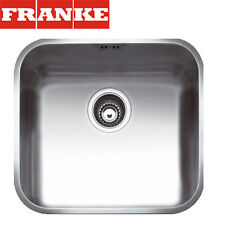 FRANKE Gax 110-45 1 Bowl Stainless Steel Undermount Kitchen Sink Waste&Overflow