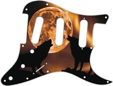 Stratocaster Pickguard Custom Fender SSS 11 Hole Guitar Pick Guard Mojo Moon