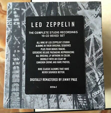 Led Zeppelin Complete Studio Recordings  ( CD Sep-1993, 10 Discs) Box set