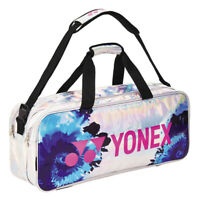 YONEX Tennis Badminton Tournament Bag Rucksack Silver Enamel Racquet 209BT004U