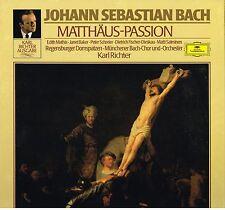 Bach: Passione San Matteo / Kerl Richter, Mathis, Schreier, Fischer-Dieskau - LP