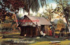 BRITISH HONDURAS,  Belize, East Indian Coolie Hut.