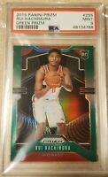 POP 267 -- 2019 Panini Prizm 255 Rui Hachimura Green RC Rookie PSA 9 MINT