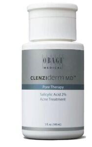 NEW & FRESH Obagi CLENZIderm M.D. Pore Therapy Salicylic Acid 2% Acne Treatment