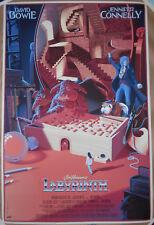 Laurent Durieux Labyrinth Print Poster David Bowie Jennifer Connelly Jim Henson
