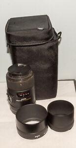 Sigma 258306 EX DG OS HSM 105mm f/2.8 Macro Lens for Nikon F - Black