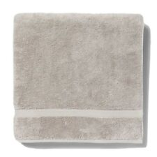 "2X Opalhouse Soft Solid Bath Sheets Towels Gray 33""x63"""