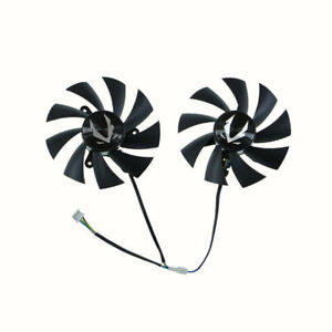 GA92A2H DC12V graphics fan for ZOTAC GAMING GeForce RTX 2060 AMP Graphics card