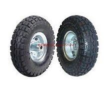 "2 Pc 10"" Air Hand Truck Car Dolly Wagon Pneumatic Tire Wheel Set"
