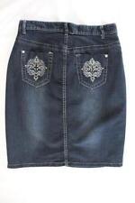 Target Denim Machine Washable Skirts for Women
