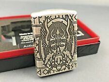 ZIPPO Odin Viking God deep carved limited 1000 pieces worldwide collectible