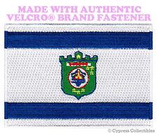 TEL AVIV FLAG PATCH ISRAEL CITY EMBROIDERED SOUVENIR w/ VELCRO® Brand Fastener