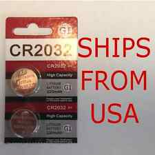 Battery for Volkswagon Key FOB Remote Keyless Entry CR2032 - 2-Pack