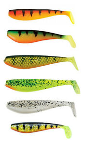 Fox Rage Zander Pro Shad Soft Lures 10cm All Colours Pike Predator Fishing