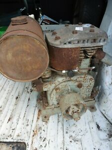 Briggs and Stratton ZZ petrol stationary engine 1940's for restoration project