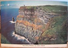 Irish Postcard THE CLIFFS OF MOHER Clare Ireland Atlantic Ocean Cardall 303