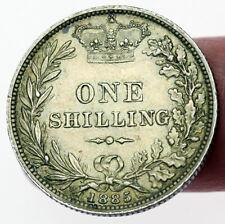 Victoria un chelín 1885-ef