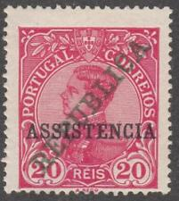 Portugal Telegraph Stamp barefoot #1 mint 20R 1911 cv $10