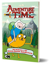 Adventure Time: The Memories of Boom Boom Mountain Book Softback Cover