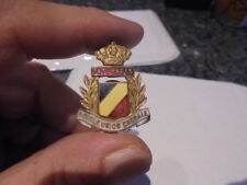belle  boutonniere  emaillée  belge paturages royal union chorale