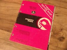 John Deere 8000 Series Grain Drills Service Shop Operators Manual *Worldwide*