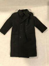1/6-SCALE-KNEE LENGTH BLACK PEA COAT...GREAT COAT FOR A CUSTOM, MILITARY, LOOK