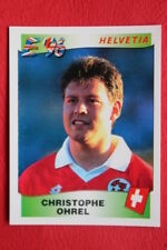 Panini EURO 96 N.64 OHREL HELVETIA New With BLACK back TOPMINT!!