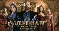 SULEIMAN EL GRAN SULTAN,SERIE TURKA,(80 DVD)
