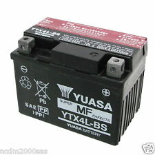 BATERÍA YUASA YTX4L-BS 12V 3Ah BOMBARDIER-CAN AM DS Mini 50 AÑO 2003 2004