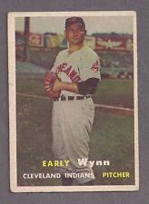 1957 Topps #40 Early Wynn, Cleveland Indians