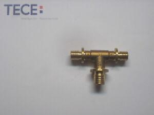 10x TECEflex 710504 / 760504 T-Stück 16 x 20 x 16 Fitting TECE Tstück Messing